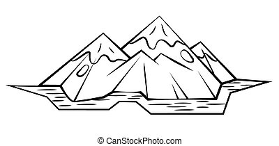 montagne, symbole