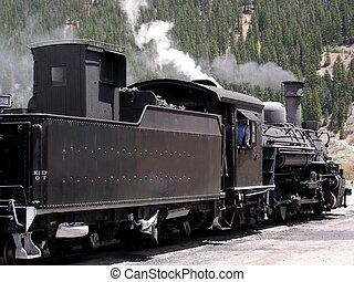 montagne, train