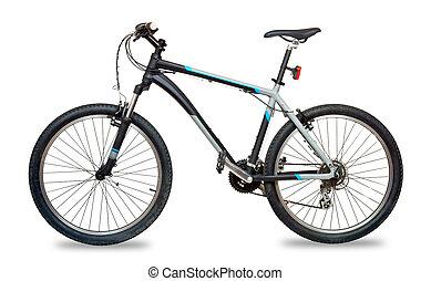 montagne, vélo, vélo