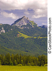 montagne, wendelstein, bavière