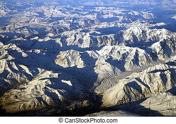 montagnes, alaska