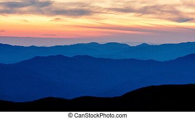 montagnes appalachiennes