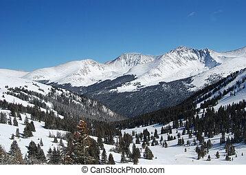 montagnes, colorado