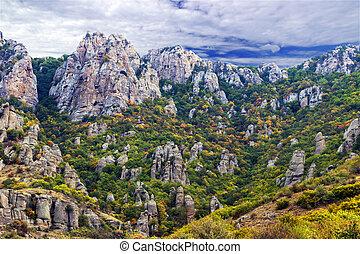 montagnes, paysage