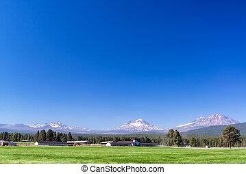 montagnes, ranch