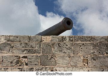montagu, canon, fort