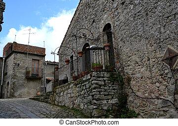 Sicily - Montalbano elicona - medieval village in Sicily