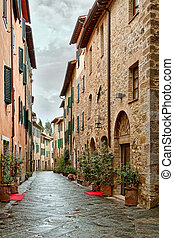 Picturesque nook of Tuscany - Montalcino - Picturesque nook ...