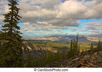 montana, 天空
