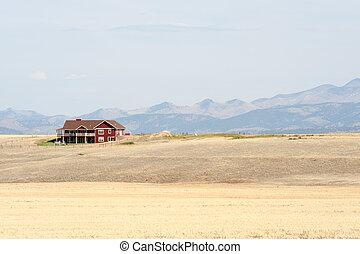 montana, bauernhaus