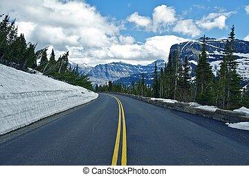 montana, camino de la montaña