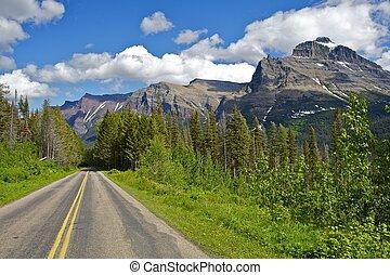 Montana Journey. Traveling Through Scenic Montana State....