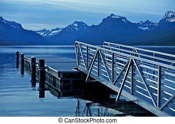 montana, lago mcdonald