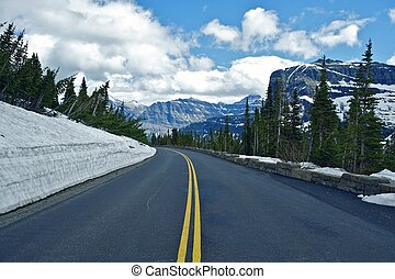 Montana Mountain Road