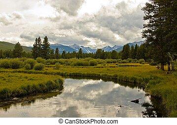 montana, paisaje