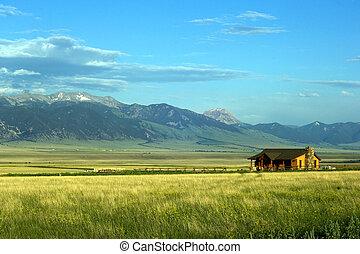 montana, ranch