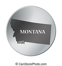 Montana State Coin
