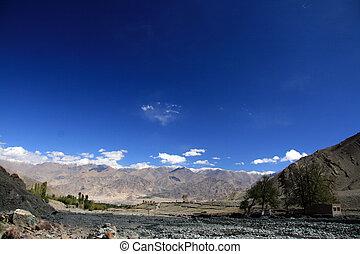 montanha, (6, índia, /, kangri, climb-, stok, 20