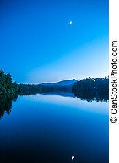 montanha azul, memorial, norte, reflexão, hora, julian,...