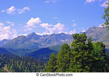 montanha, beleza, natureza