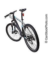 montanha, bicicleta