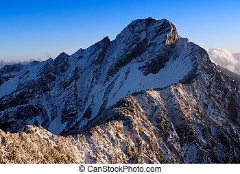 montanha, jade, 14