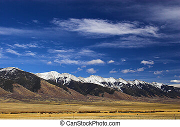 montanha, paisagens