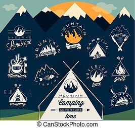 montanha, símbolos