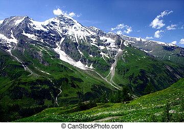 montanhas, áustria