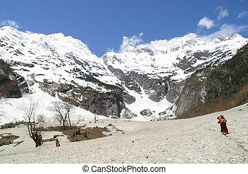 montanhas altas, china