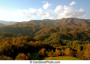 montanhas, asheville, carolina norte
