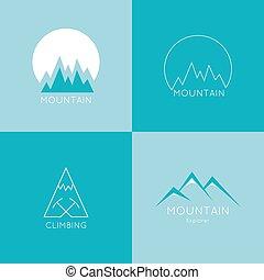 montanhas, box.
