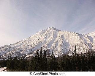 montanhas, denali