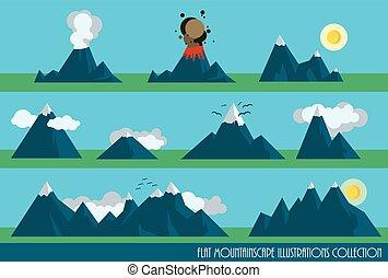 montanhas, jogo