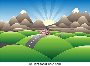 montanhas, joyride