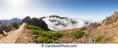 montanhas, paisagem