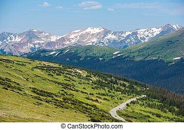 montanhas rochosas, panorama