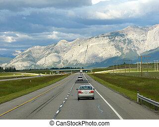 montanhas, rochoso