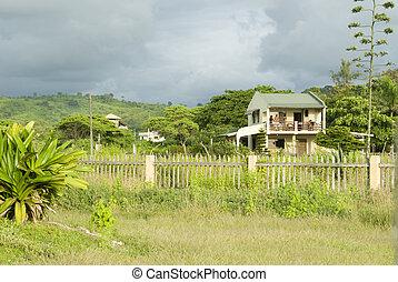 montanita, 家, ジャングル, エクアドル