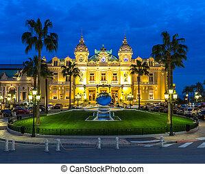 Monte Carlo Casino Monaco - The Monte Carlo Casino, gambling...