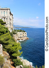 Monte Carlo city, Monaco, Provence - Beautiful view of Monte...