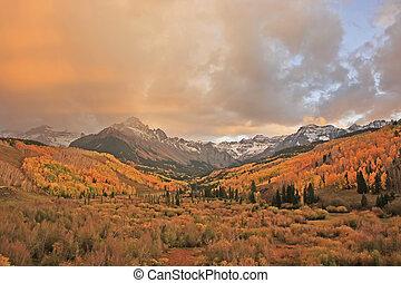 monte, colorado, sneffels