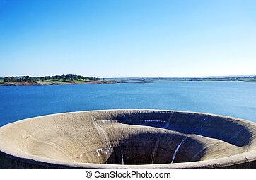 Monte da Rocha barrage, Ourique, Portugal