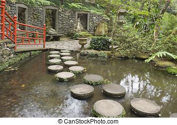 monte, jardín botánico