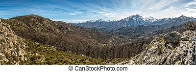 Monte Pardu and San Parteo in Balagne region of Corsica - ...