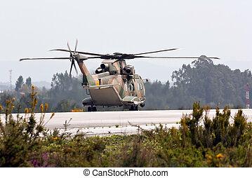 MONTE REAL, PORTUGAL-APRIL 7: Agusta-Westland EH-101 Merlin...