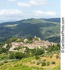 Montefioralle (Chianti, Tuscany) - Montefioralle (Greve in ...