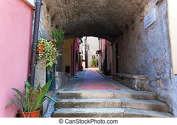 Montemarcello Village - Liguria Italy - Montemarcello small...