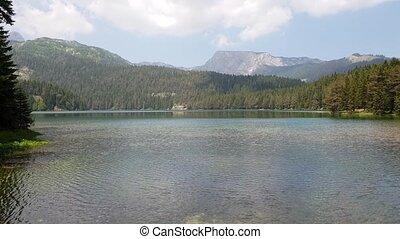 Montenegro, Black Lake in a Durmitor Park - Montenegro,...