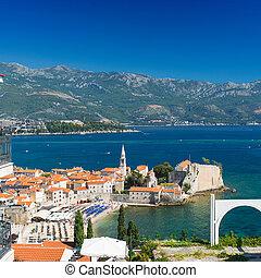 montenegro, budva, alte stadt